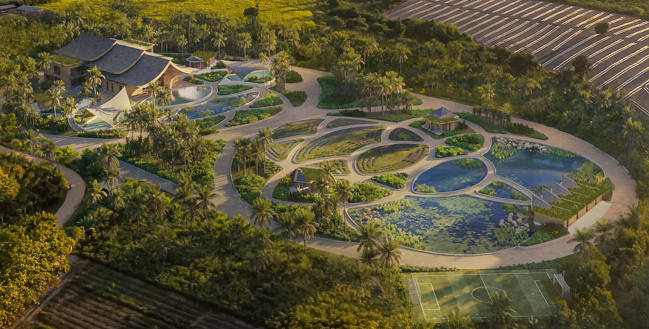 Thrivable Farm Campus Rendering